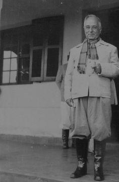 Getúlio Vargas de bombacha, em 1938