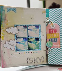 THESE BOOTS WERE MADE FOR BLOGGING By Krissy Clark McKee - Instagram journal using a Sn@p album and American Crafts