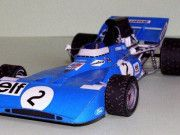 F1 Paper Model - 1971 GP Netherlands, GP Monaco, GP Germany Tyrrell 003 Paper…