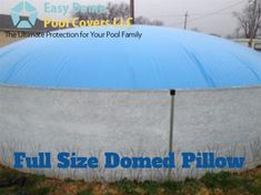 Looking for a durable to cover your Use this heavy-duty It comes with a special air valve that allows you to fill it with air using a shop vac or leaf blower. if any seam has a hole or leaks air. Best Above Ground Pool, In Ground Pools, Winter Pool Covers, Leaf Blower, Home Repair, Fill, Outdoor Blanket, Things To Come, Pillows