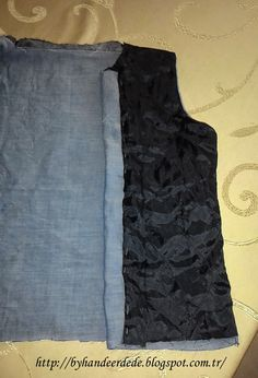 Bugün yelek nasıl dikilir ve en önemlisi nasıl astarlanır onu anlatmaya ça… Today I will try to explain how the vest is sewn and, above all, primed. I sew a vest, and every time I put on the food … Men And Babies, Crochet Hook Set, Make Your Own Clothes, Sewing Class, Girl Blog, Sewing Hacks, Sewing Tips, Sewing Ideas, Knitting Stitches