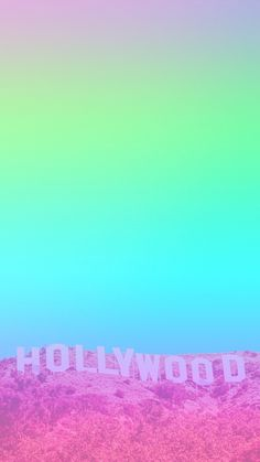 Gradient Series - I did NOT make the original image underneath the gradient, just the gradient colours. Wallpaper, iPhone, Android, Background, Pink, Purple, Blue, HD, rainbow, Hollywood, colorful