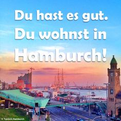 Hamburg Spruch Card Book, Hamburg Germany, My Town, Best Cities, Great Places, Pictures, Type 1, Travelling, Hearts
