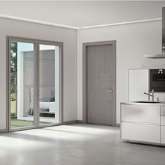 Room Door Design, Door Design Interior, Interior Concept, House Design, White Interior Doors, Interior Columns, Model House Plan, New House Plans, House Windows