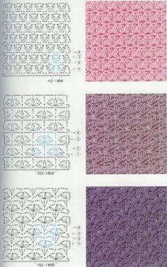 Best 11 40 Free Crochet Stitches from Daisy Farm Crafts – DiyForYou – SkillOfKing. Crochet Stitches Chart, Crochet Symbols, Crochet Motifs, Crochet Diagram, Crochet Basics, Knitting Stitches, Free Crochet, Knit Crochet, Knitting Patterns