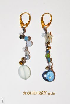 Shorter earrings great for young girls or short haircuts !!! www.annina28.it