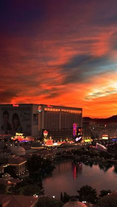Las Vegas,sunset, Nevada, USA