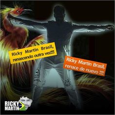 RICKY MARTIN BRASIL : Força Família Ricky Martin Brasil!!!