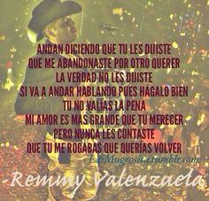 Remmy Valenzuela - Te Tocó Perder