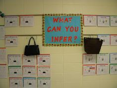 Inferences: What's in my teacher's bag or trash?