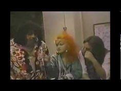 Cyndi Lauper, Lou Albano & Hulk Hogan WWE / WWF wrestling 1985