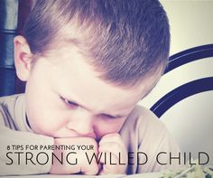 8 good tips for parenting a strong willed child