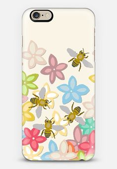 Indian Summer flowers and bees @Casetify #casetify #indiansummer #summer #phone #case #flowers #bees #iPhone #android #fresh #pretty #sharonturner #scrummy #pink #nature #insect #honeybee #bee ~ get $10 off using code: 5A7DC3