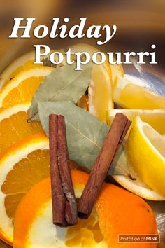 Scent your home naturally from Thanksgiving to Christmas with homemade holiday potpourri.