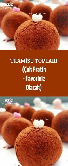 Tramisu Topları (Çok Pratik - Favoriniz Olacak) France is an independent nation in Western Europe and the biggest market of a large overseas administration Delicious Cake Recipes, Yummy Cakes, Yummy Food, Food Cakes, Köstliche Desserts, Dessert Recipes, Mousse Au Chocolat Torte, Pasta Cake, Recipe Mix