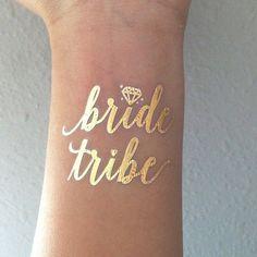 Pas cher 1 pcs mariée tribu Temporaire Tatouage bachelorette partie accessoires…