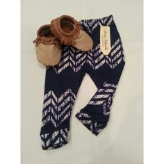 Baby Leggings Navajo Blue Arrow..Hipster leggings