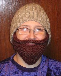 Bearded Beanie Knitting Pattern - Chicken Stitches Blog