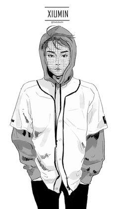 <fanart> Xiumin