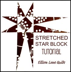 some great quilt tutorials including a wonky log cabin that I'd love to try