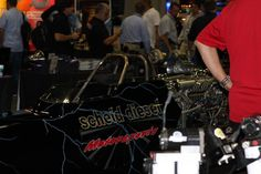 Scheid Diesel promotes a new product at the 2012 PRI.