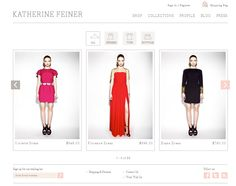 Quickly scroll through the different products with this easy to use carousel Web Design Examples, Ecommerce Web Design, Shop Signs, Carousel, Shopping, Collection, Tops, Dresses, Easy