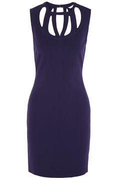 Diane von Furstenberg|Amy cutout stretch-jersey dress|NET-A-PORTER.COM