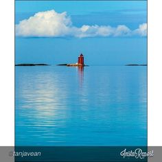 Kjeungskjær Lighthouse - Instagram photo by @Tanja Heikkilä Vean #travel #norway