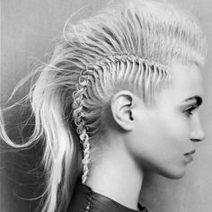 Always Wanted a Mohawk Look but Never had the Guts to Shave My Head! Solves that problem :)