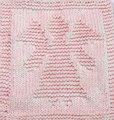 Knitting Cloth Pattern - CHRISTMAS ANGEL - 2,  PDF - Instant Download