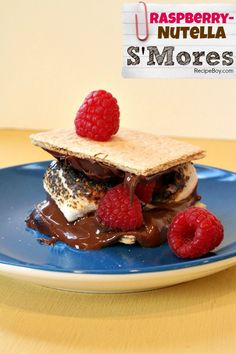 Raspberry- Nutella S'Mores