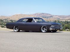 Pro-touring style '66 Chevelle