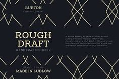 Image result for beer label font