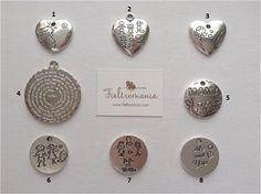 Colgantes de la colección Family de Fieltromania Place Cards, Place Card Holders, Shopping, Pendants
