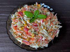 Najlepsze surówki do obiadu! - Blog z apetytem Coleslaw, Polish Recipes, Polish Food, Potato Salad, Hamburger, Cabbage, Salads, Potatoes, Vegetables