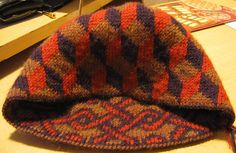 Ravelry: Falling Blocks Hat pattern by Alasdair Post-Quinn