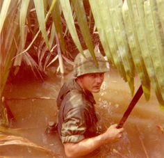 "199th Light Infantry Brigade, ""Redcatchers"" Co. C 3rd Bn 7th Inf - Vietnam War"