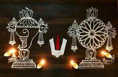 Free Hand Rangoli Design, Small Rangoli Design, Beautiful Rangoli Designs, Rangoli Patterns, Rangoli Designs Diwali, Kolam Designs, Ganesha Rangoli, Kolam Rangoli, Padi Kolam