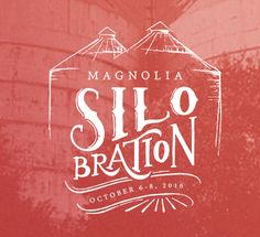 Chip and Joanna Gaines of 'Fixer Upper' have just announced the second annual Magnolia Silobration at their unique Waco marketplace. Branding Design, Logo Design, Graphic Design, Fixer Upper Tv Show, Magnolia Farms, Magnolia Mom, Magnolia Market, How To Store Bread, Chip And Joanna Gaines