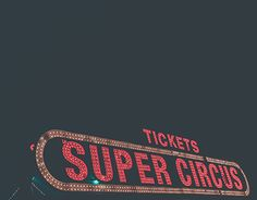 """Check out new work on my @Behance portfolio: """"Super Circus"""" http://be.net/gallery/47575047/Super-Circus"""
