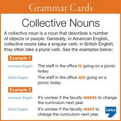 Ever noticed there's a difference in how British and American English speakers use collective nouns?