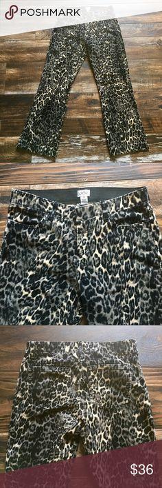 Cache pants Cheetah print pants. Cache Pants