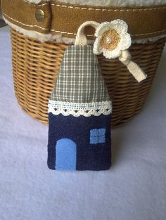 Key cover Handmade key cover Little home key cover by DooDesign, $5.99