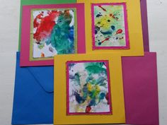 Create easy, effective homemade cards with the children and save a fortune!