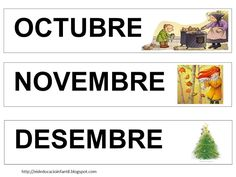 Foto: CARTELLS PELS MESOS DE L'ANY AL CALENDARI Album, Veronica, Diy, Ideas, Classroom Setting, Preschool Printables, Cool Stuff, Calendar, School
