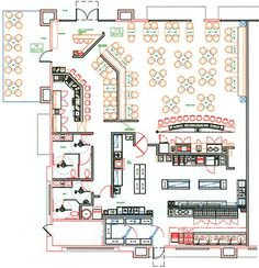 Restaurant Kitchen Blueprint all day dining restaurant layouts - google search | ristoranti