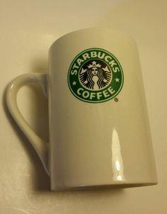 2008 STARBUCKS Coffee Mug Cups White Green Black 10 FL OZ Mermaid/Siren in Collectibles, Advertising, Food & Beverage | eBay