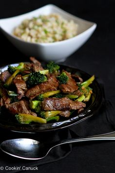 Chinese Beef and Broccoli Stir-Fry...This recipe looks AMAZING! For my first time I will simplify it praying it tastes delish!