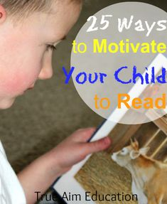 25 Ways to Motivate Your Kids to Read, free printables, activites, and more!
