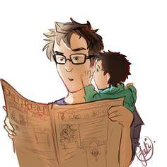 Marauders + Baby Harry - James
